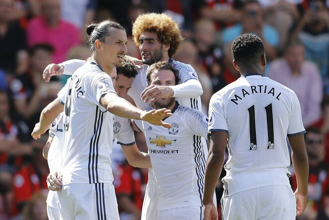 """Manchester United"" futbolininkai | Scanpix nuotr."