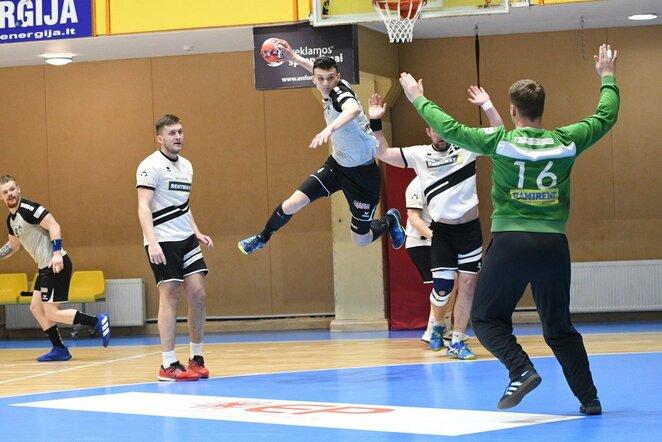 Lietuvos rankinio lygos ketvirtfinaliai   Lietuvos rankinio lygos nuotr.