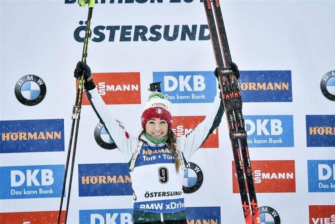 Dorothea Wierer   Scanpix nuotr.