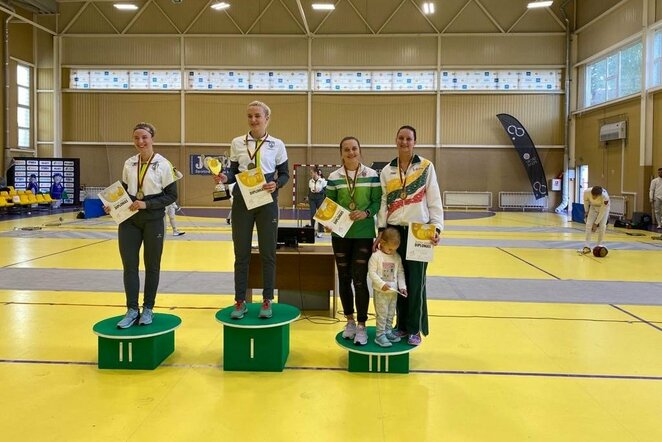 Lietuvos fechtavimo čempionatas   Organizatorių nuotr.