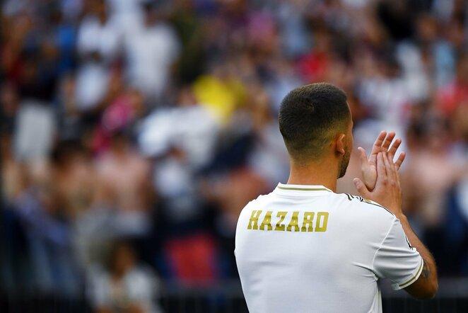 "E.Hazardo pristatymas ""Real"" gretose | Scanpix nuotr."