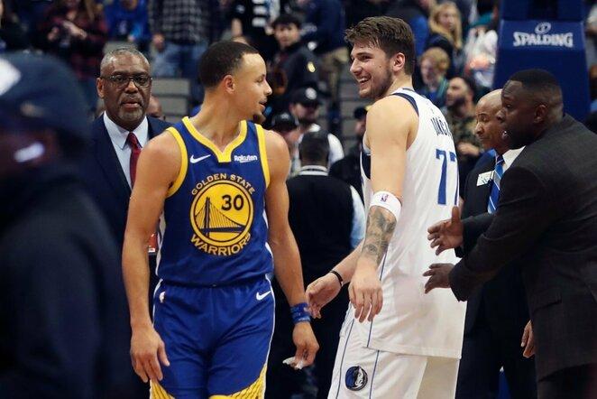 Curry ir Dončičius   Scanpix nuotr.
