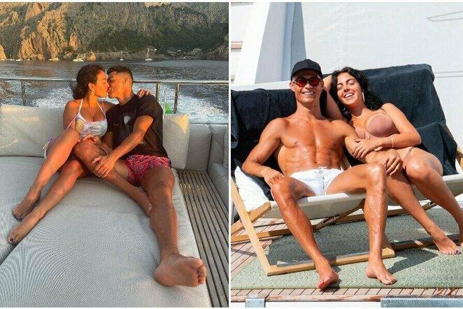 Cristiano Ronaldo ir Georgina Rodriguez | Instagram.com nuotr