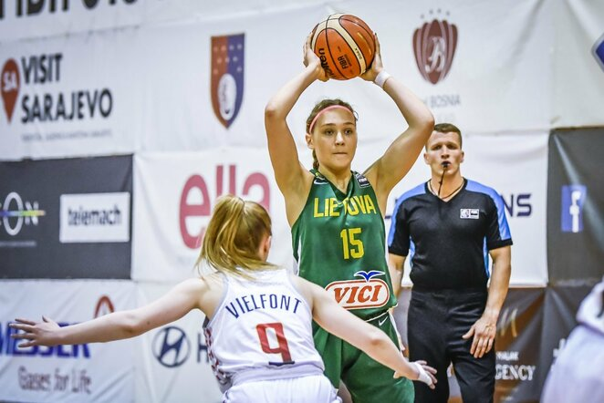 Lietuvių ir belgių rungtynės | FIBA nuotr.