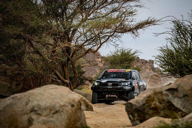 "Benediktas Vanagas | ""Inbank Toyota Gazoo Racing Baltics"" nuotr."