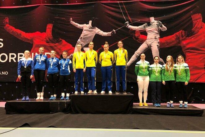 Šiaurės Šalių fechtavimo čempionatas | Organizatorių nuotr.