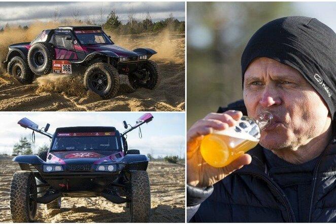 Gintas Petrus pristatė naująjį automobilį   Roko Lukoševičiaus/BNS Foto nuotr.