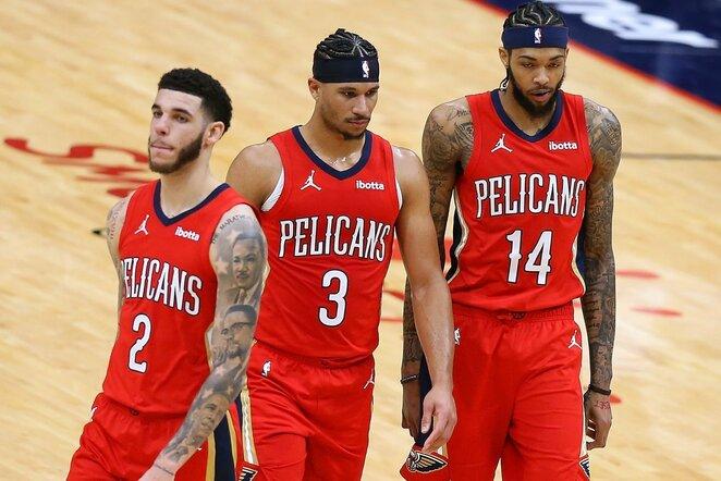 Pelicans   Scanpix nuotr.