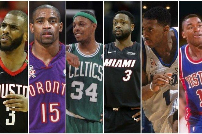 Geriausi NBA krepšininkai, niekada netapę sezono MVP | Scanpix nuotr.