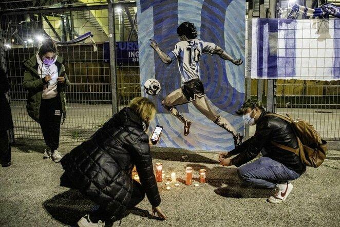 Diego Maradonos pagerbimas | Scanpix nuotr.