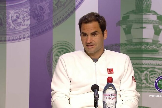 Rogeris Federeris   Youtube.com nuotr.