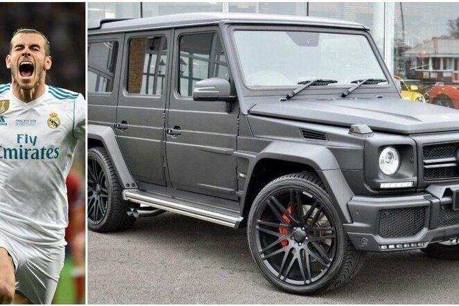 Garetho Bale'o automobilis | Scanpix nuotr.