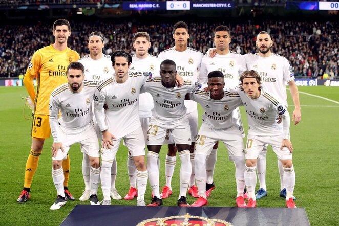 "Madrido ""Real""   Scanpix nuotr."