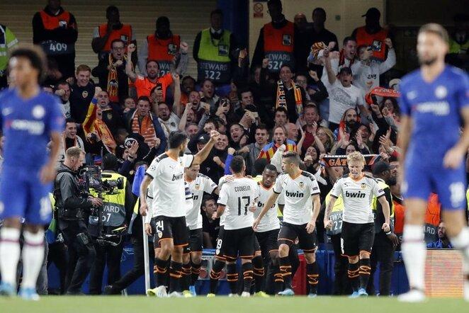"""Chelsea"" –""Valencia"" rungtynių akimirka | Scanpix nuotr."
