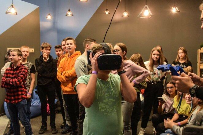 Vilniaus mokyklų žaidynių mokiniams – įsimintinos pramogos | Organizatorių nuotr.
