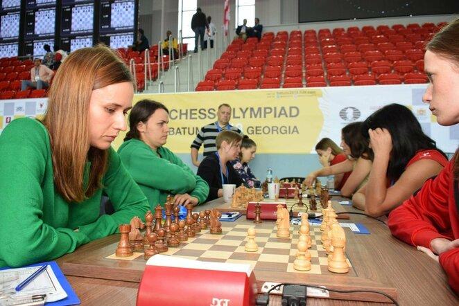 Lietuvos moterų šachmatų rinktinė | Organizatorių nuotr.