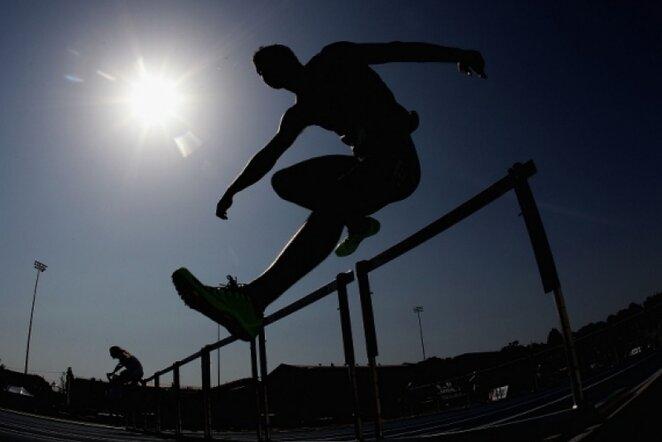 Barjerinis bėgimas | AFP/Scanpix nuotr.