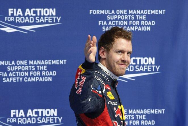 Sebastianas Vettelis | AP/Scanpix nuotr.
