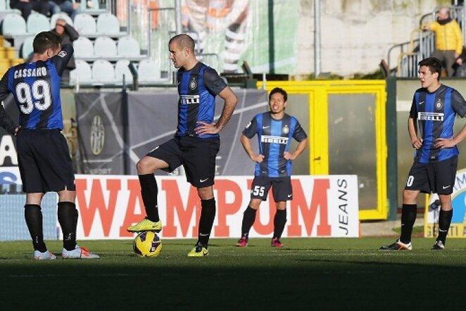 "Milano ""Inter"" futbolininkai | AFP/Scanpix nuotr."