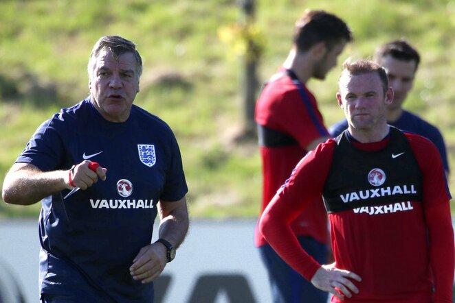 Samas Allardyce'as ir Wayne'as Rooney   Scanpix nuotr.