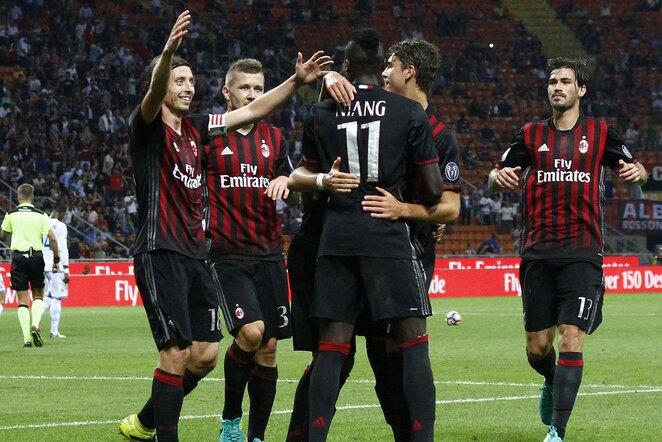 """Milan"" futbolininkai  Scanpix nuotr."