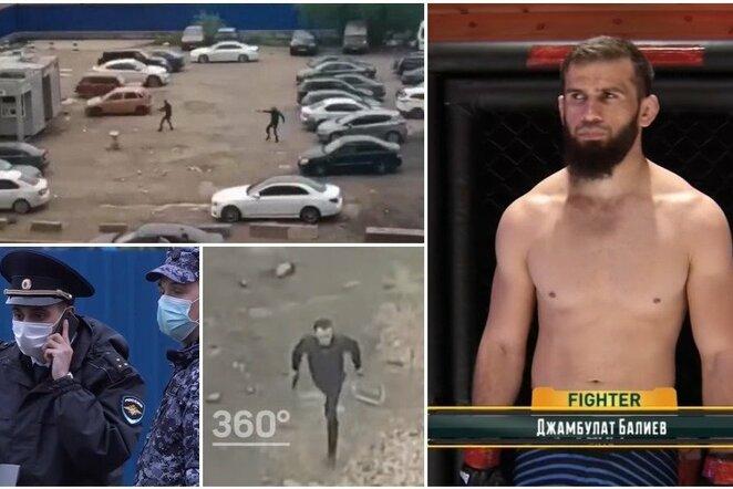 Susišaudymas Maskvoje | Youtube.com nuotr.