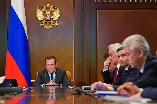 Dmitrijus Medvedevas | Scanpix nuotr.