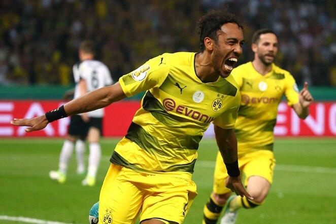 """Borussia"" – ""Eintracht"" rungtynių akimirka | Scanpix nuotr."