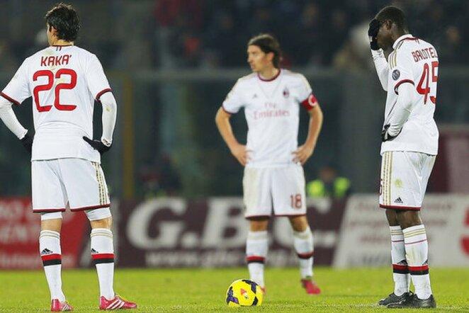 Milano klubas prarado du taškus | AP/Scanpix nuotr.