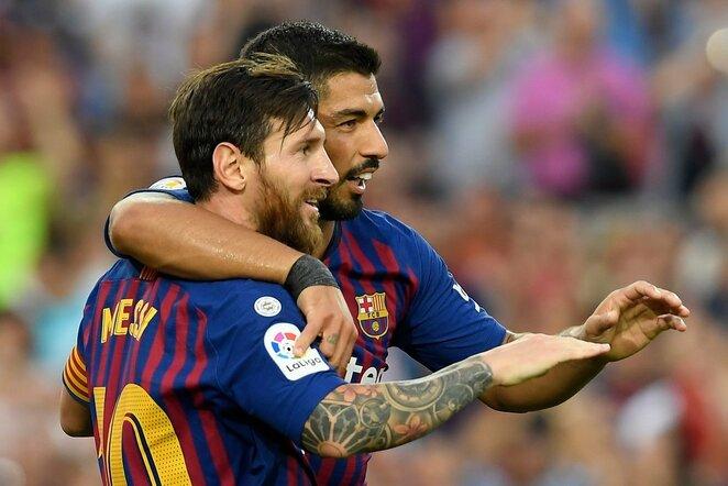 Luisas Suarezas ir Lionelis Messi | Scanpix nuotr.