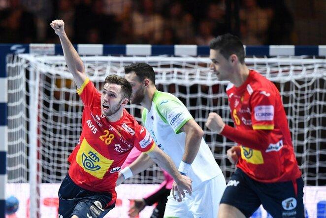Ispanų ir slovėnų rungtynės   Scanpix nuotr.