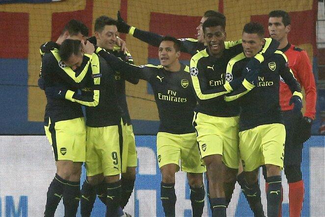 """""""Arsenal"""" ekipa užėmė pirmą vietą grupėje   Scanpix nuotr."""