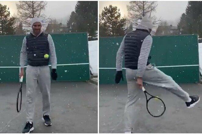 """Rogeris Federeris   """"Twitter"""" nuotr."""