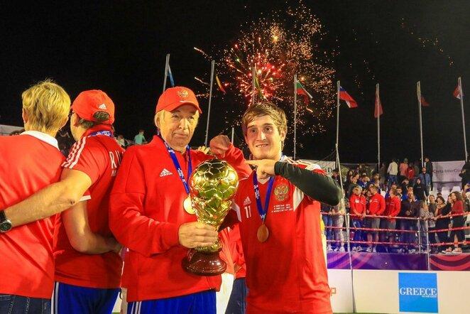 Rusijos mažojo futbolo rinktinė | Organizatorių nuotr.