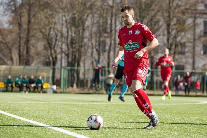 Rungtynių akimirka Mariaus Vizbaro / BNS foto nuotr.
