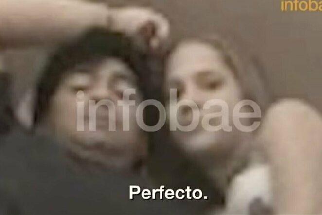 "Diego Maradona   ""Stop"" kadras"
