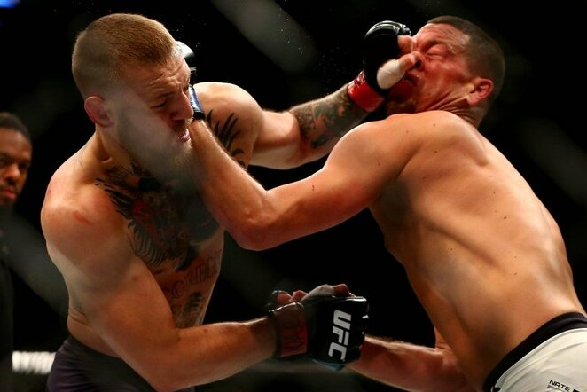 Nate'o Diazo ir Conoro McGregoro dvikova | Scanpix nuotr.
