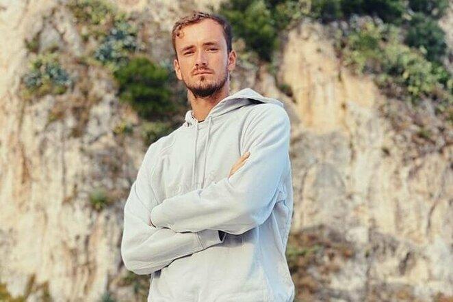 Danil Medvedev | Instagram.com nuotr