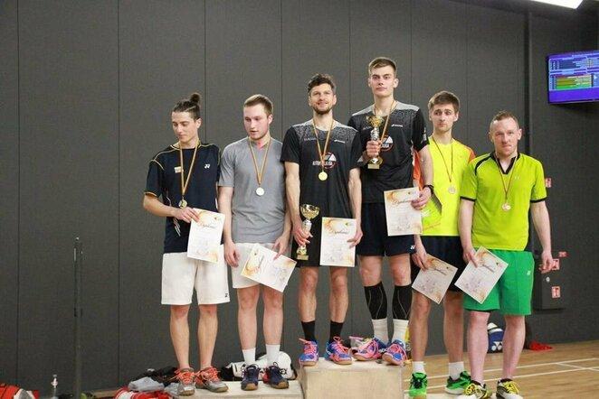 Lietuvos badmintono čempionato prizininkai   Organizatorių nuotr.