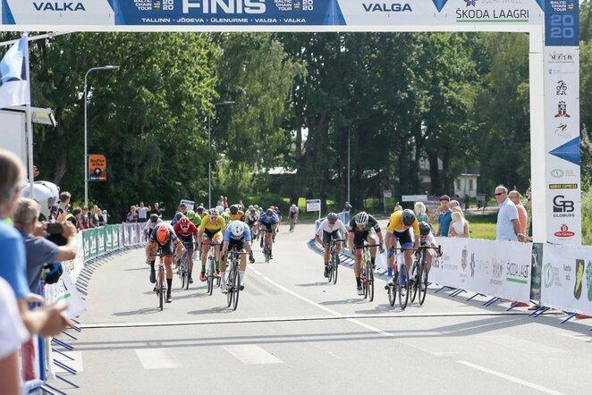 Paskutinio etapo finišas   Organizatorių nuotr.