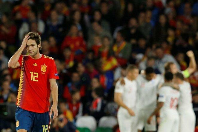 Tautų lyga: Ispanija - Anglija | Scanpix nuotr.