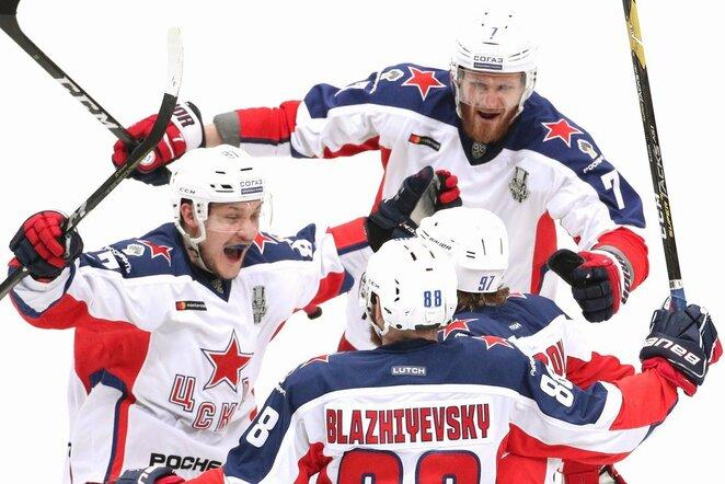 Maskvos CSKA triumfas   Scanpix nuotr.