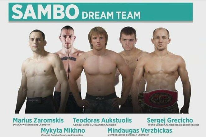 """""""Sambo"""" komanda   Organizatorių nuotr."""