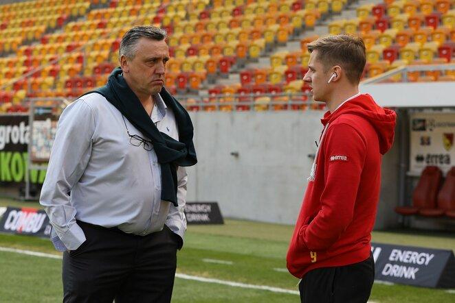 Valdas Ivanauskas ir Arvydas Novikovas   Organizatorių nuotr.