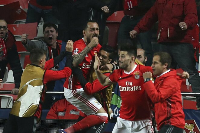 """Benfica"" triumfuoja | Scanpix nuotr."