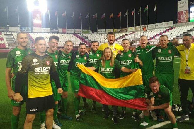 Lietuvos mažojo futbolo rinktinė pasaulio čempionate | Organizatorių nuotr.