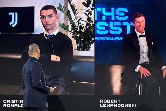 Cristiano Ronaldo (kairėje) | Scanpix nuotr.