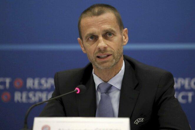 UEFA prezidentas Aleksandras Čeferinas | Scanpix nuotr.