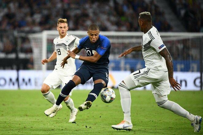 Tatutų lyga: Vokietija - Prancūzija (2018.09.06)   Scanpix nuotr.