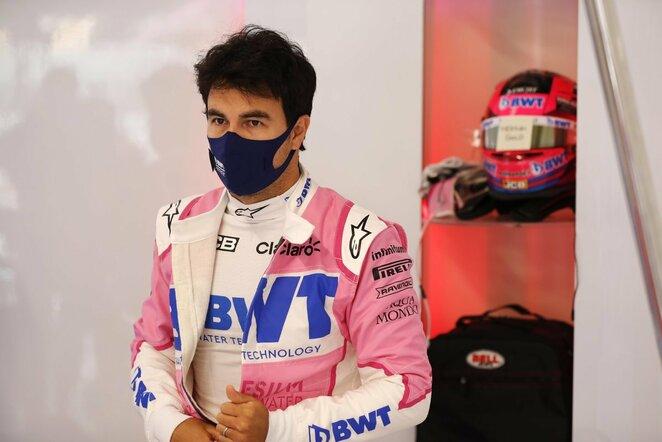 Sergio Perezas | Scanpix nuotr.